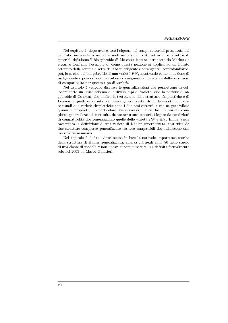 Anteprima della tesi: Geometria generalizzata e Modelli Sigma Non Lineari, Pagina 2