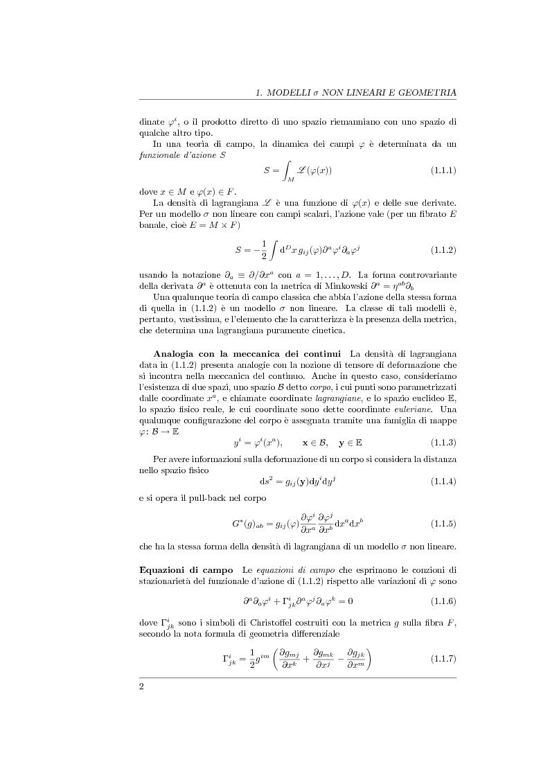 Anteprima della tesi: Geometria generalizzata e Modelli Sigma Non Lineari, Pagina 4