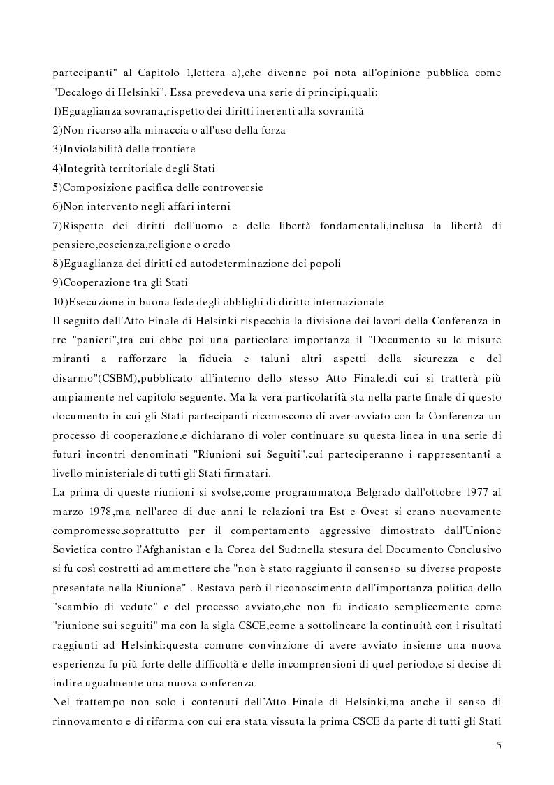 Anteprima della tesi: Gli aspetti istituzionali della riforma dell'OSCE, Pagina 3