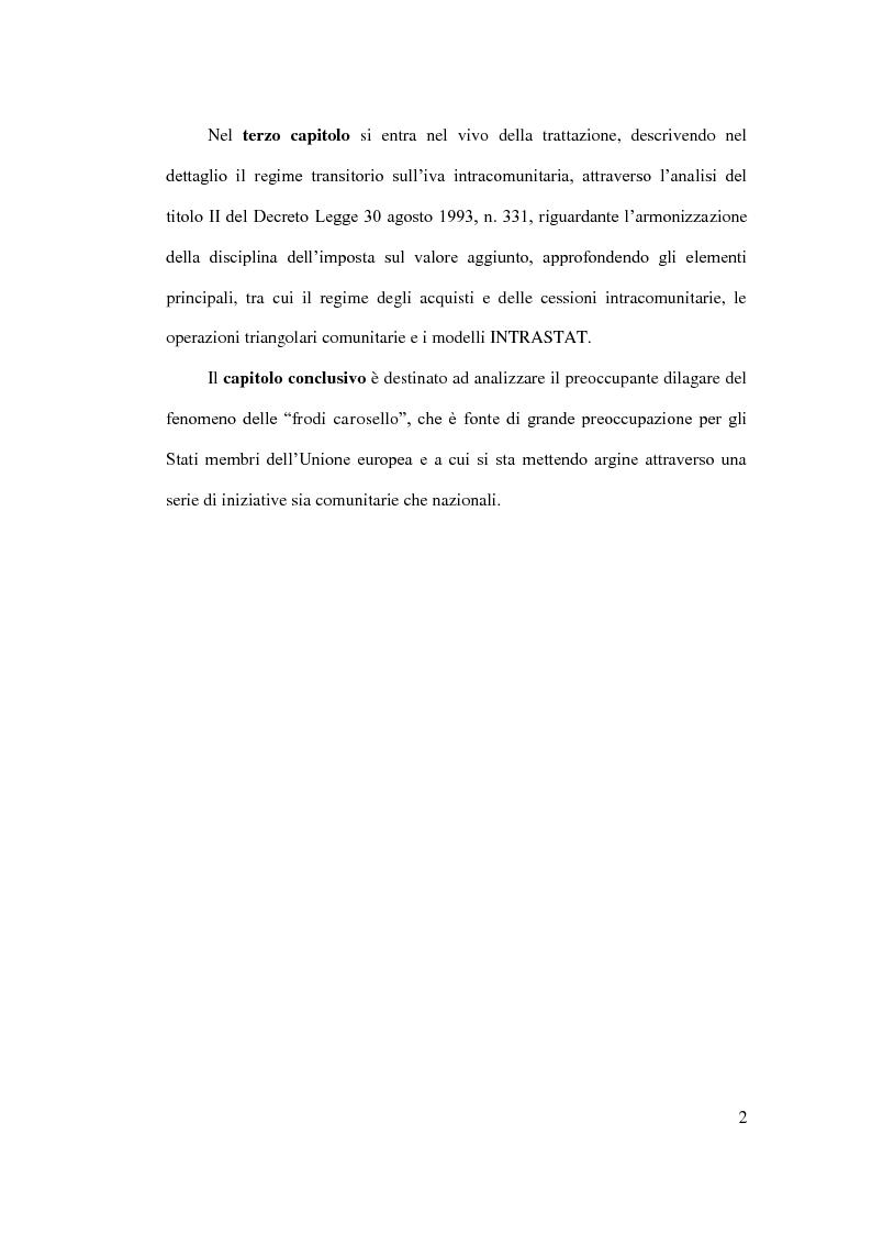 Anteprima della tesi: IVA intracomunitaria, Pagina 3