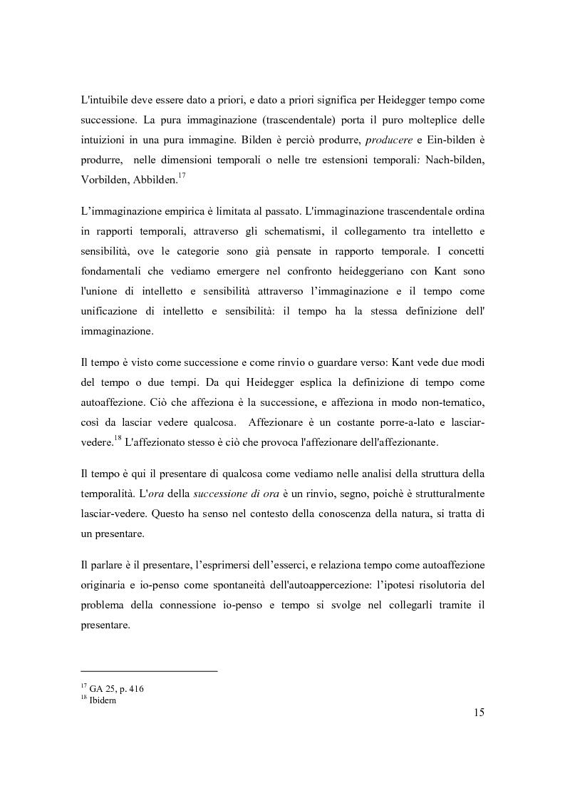 Anteprima della tesi: Concetto e fenomeno di tempo, Pagina 9