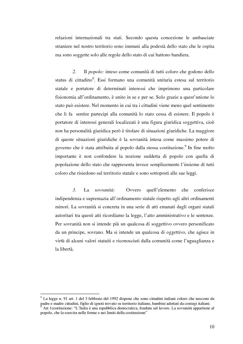 Anteprima della tesi: Rapporto tra Stato e Pubblica Amministrazione, Pagina 8