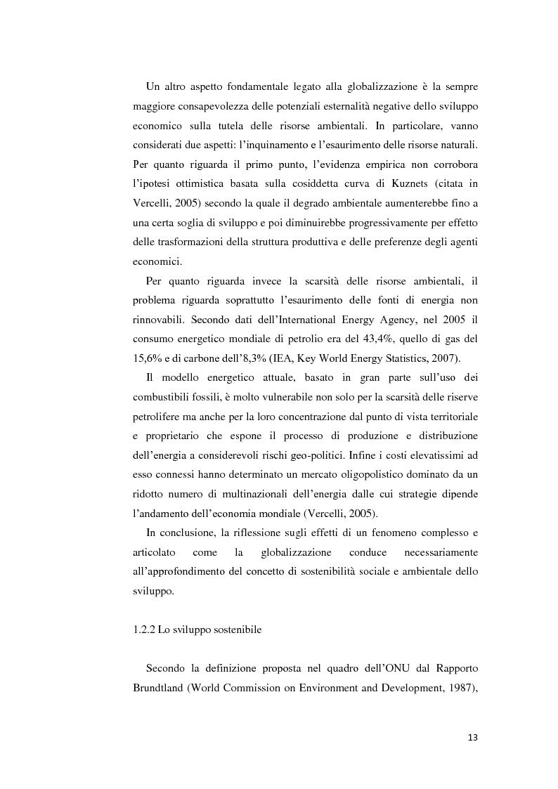 Anteprima della tesi: La gestione della crisi nella responsabilità sociale d'impresa. Due casi a confronto, Pagina 13