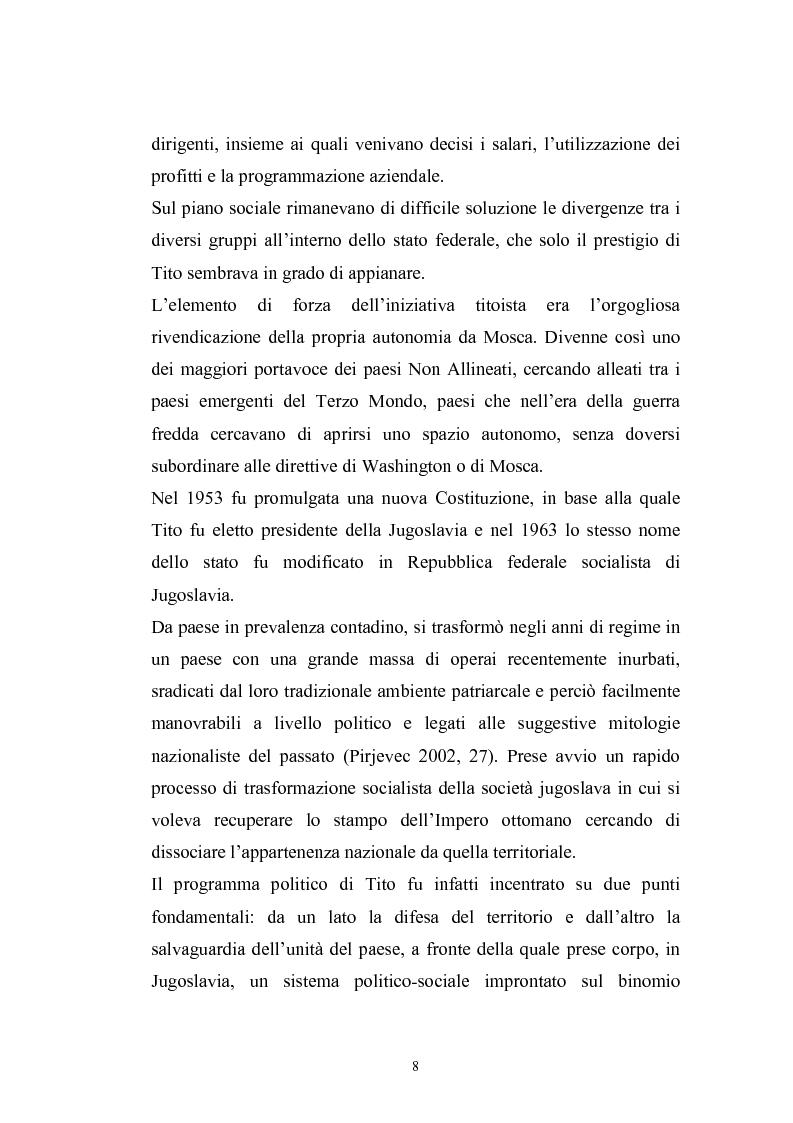 Anteprima della tesi: Dopo la violenza. Le forme di giustizia per la ricomposizione sociale. Il caso di Srebrenica, Pagina 5