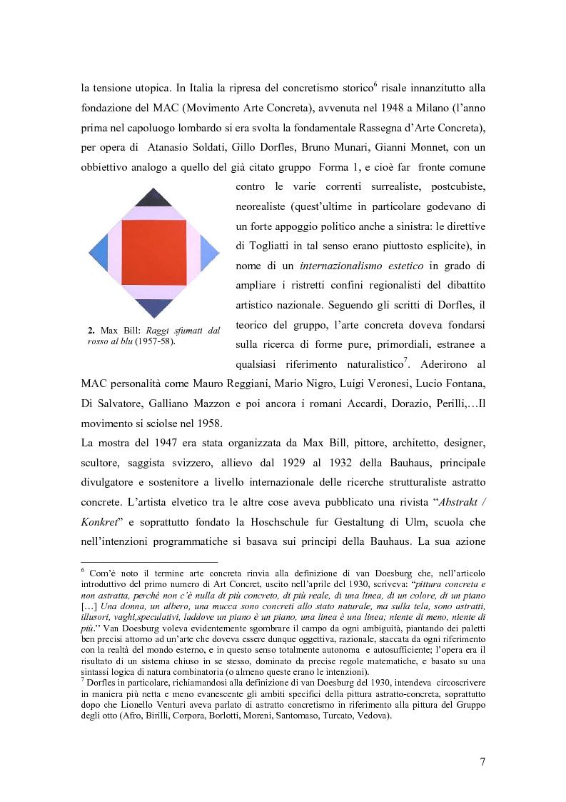 Anteprima della tesi: Azzeramento e neoconcretismo: Francesco Lo Savio, Pagina 5