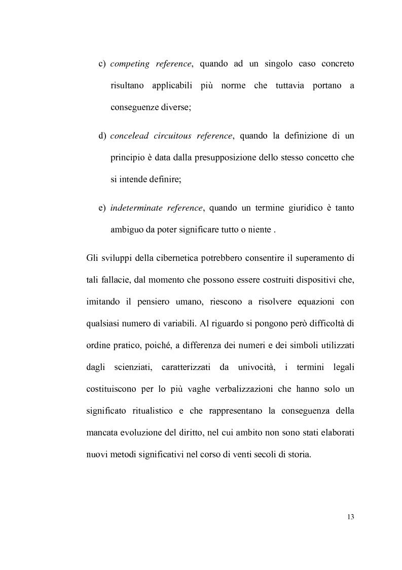 Anteprima della tesi: Informatica giuridica e diritto costituzionale, Pagina 13