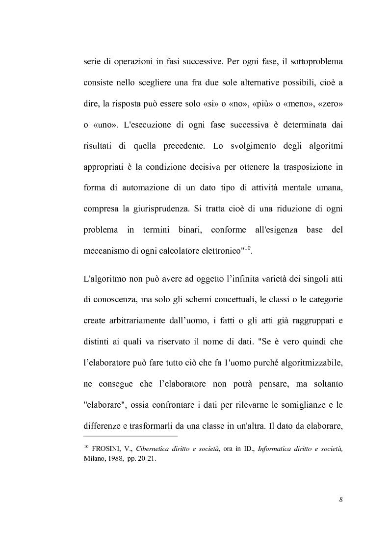 Anteprima della tesi: Informatica giuridica e diritto costituzionale, Pagina 8
