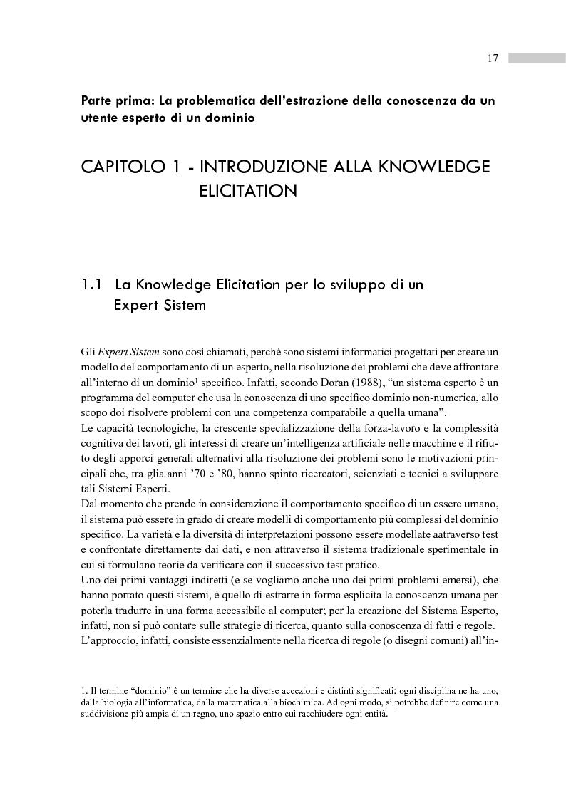 Anteprima della tesi: Metodi e tecniche per la Knowledge Elicitation nella progettazione di un sistema domestico per non vedenti e ipovedenti, Pagina 4