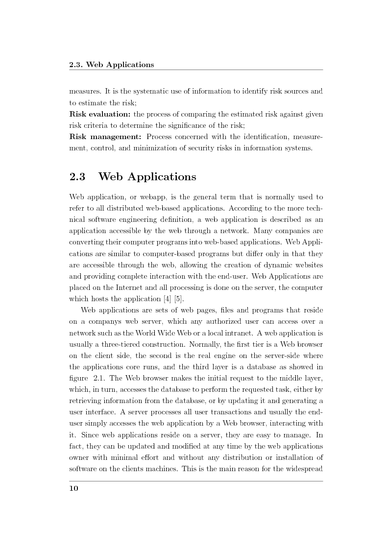 Anteprima della tesi: Creation and Evaluation of SQL Injection Security Tools, Pagina 12