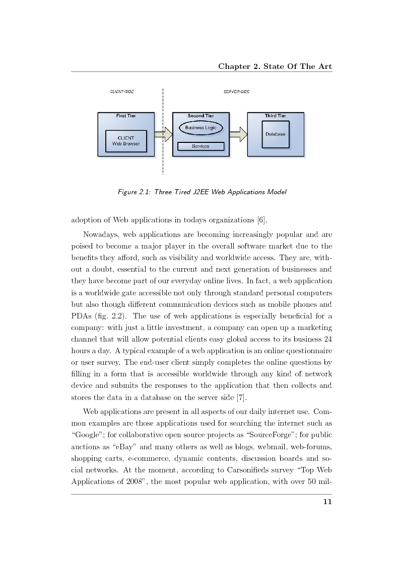 Anteprima della tesi: Creation and Evaluation of SQL Injection Security Tools, Pagina 13