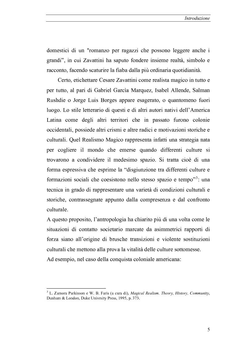 Anteprima della tesi: Il realismo magico in Cesare Zavattini, Pagina 5