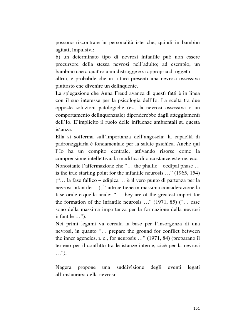 Anteprima della tesi: Attualità della nevrosi infantile, Pagina 3