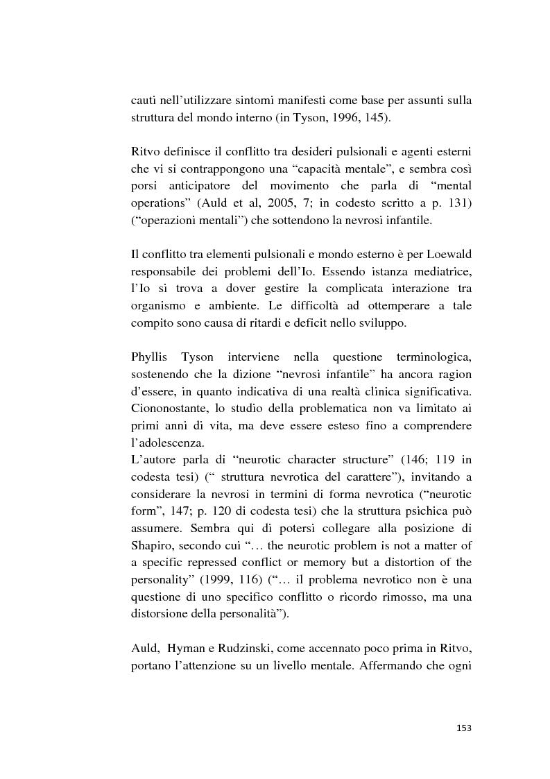 Anteprima della tesi: Attualità della nevrosi infantile, Pagina 5