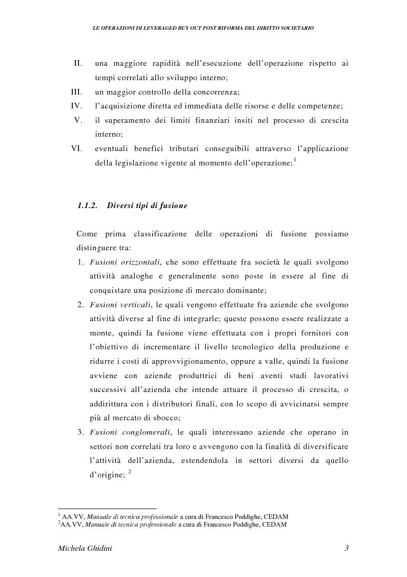 Anteprima della tesi: Le operazioni di Leveraged Buy Out post riforma del diritto societario, Pagina 2