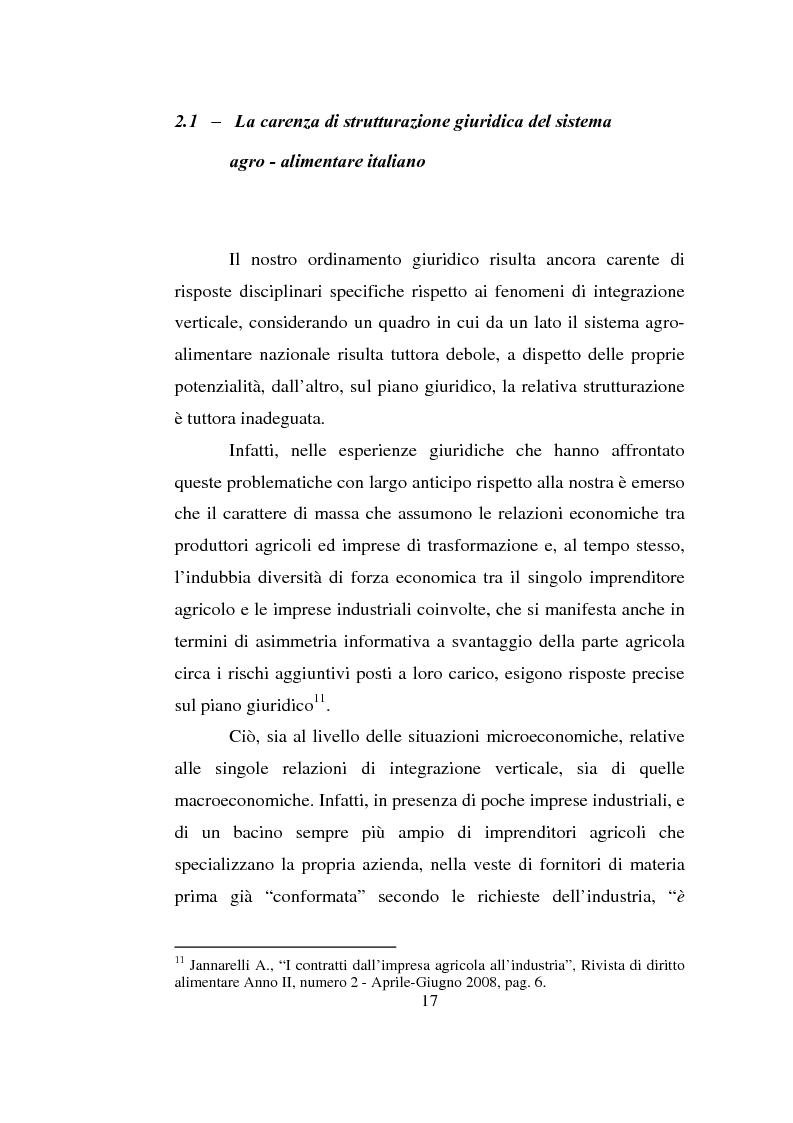 Anteprima della tesi: L'impresa agro-alimentare: dal principio di precauzione alla sicurezza alimentare, Pagina 10