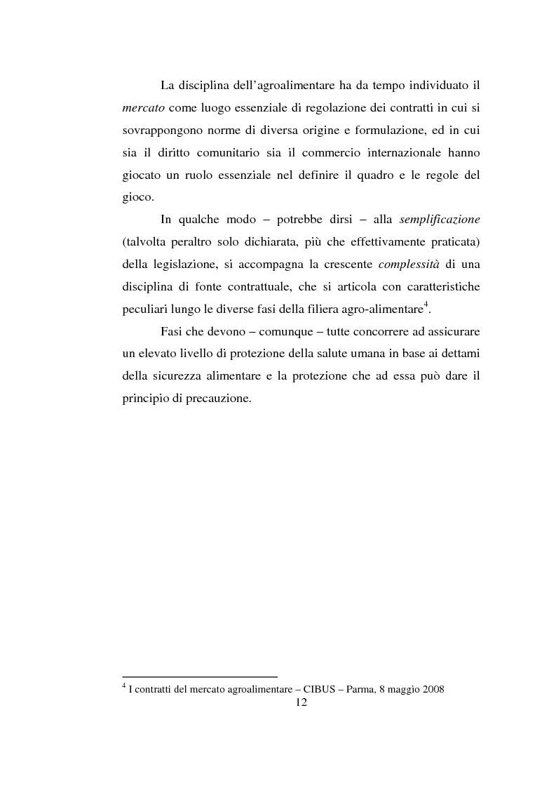 Anteprima della tesi: L'impresa agro-alimentare: dal principio di precauzione alla sicurezza alimentare, Pagina 5