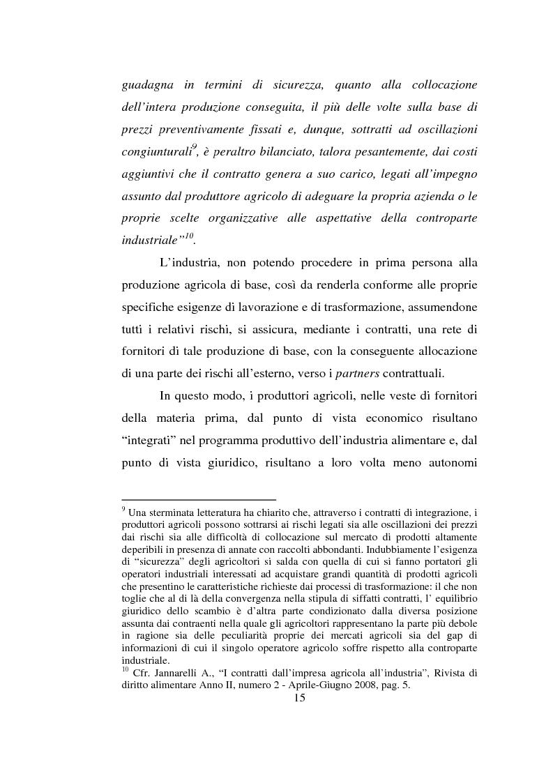 Anteprima della tesi: L'impresa agro-alimentare: dal principio di precauzione alla sicurezza alimentare, Pagina 8