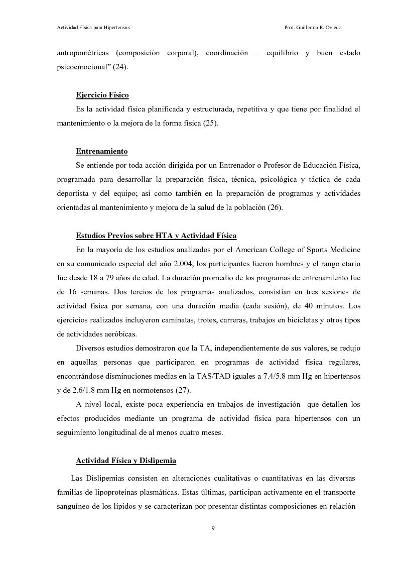 Anteprima della tesi: Attività fisica per persone con pre e ipertensione arteriosa, Pagina 6