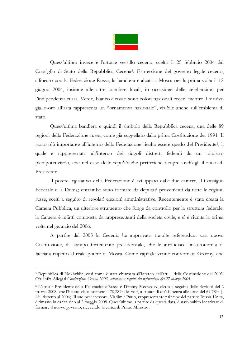 Anteprima della tesi: La Repubblica di Nokhchiin: un falso problema geoeconomico, Pagina 7