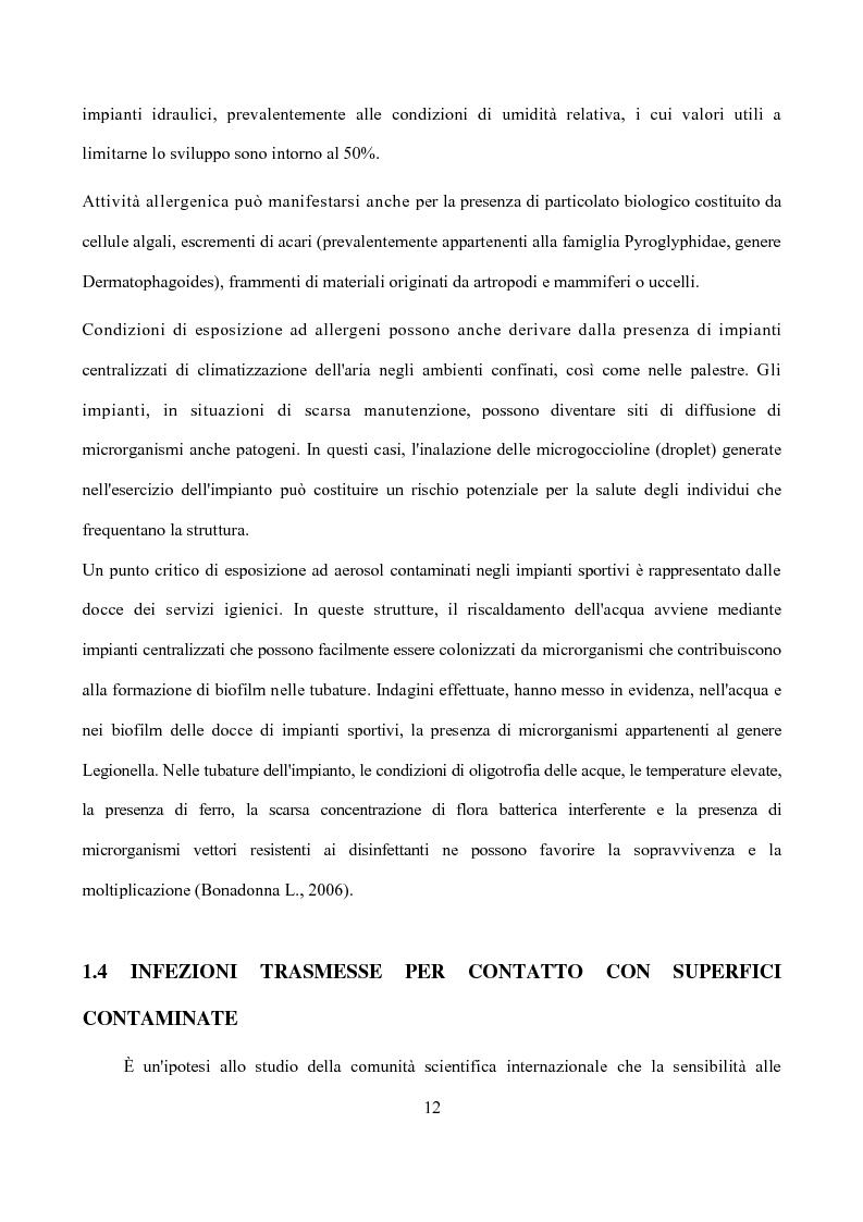 Anteprima della tesi: Analisi dei punti critici nella valutazione di sicurezza e qualità degli impianti sportivi, Pagina 7
