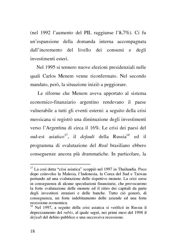 Anteprima della tesi: L'esperienza delle imprese recuperate in Argentina. Problemi e prospettive., Pagina 18