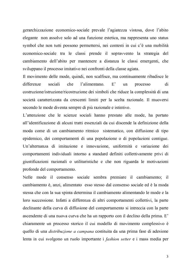 Anteprima della tesi: La presenza della moda in Internet. Un confronto tra tre aree linguistiche: italiana-inglese-spagnola., Pagina 3