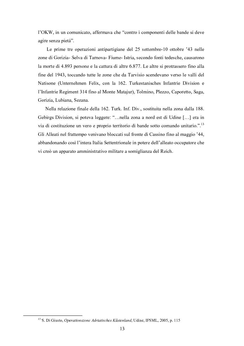 Anteprima della tesi: La Decima M.A.S. in Friuli. Il processo a Remigio Rebez, Pagina 11
