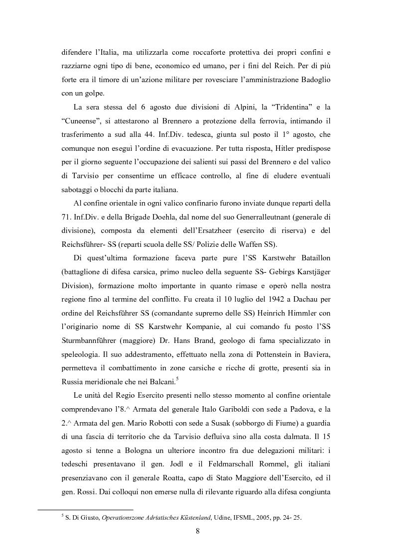 Anteprima della tesi: La Decima M.A.S. in Friuli. Il processo a Remigio Rebez, Pagina 6