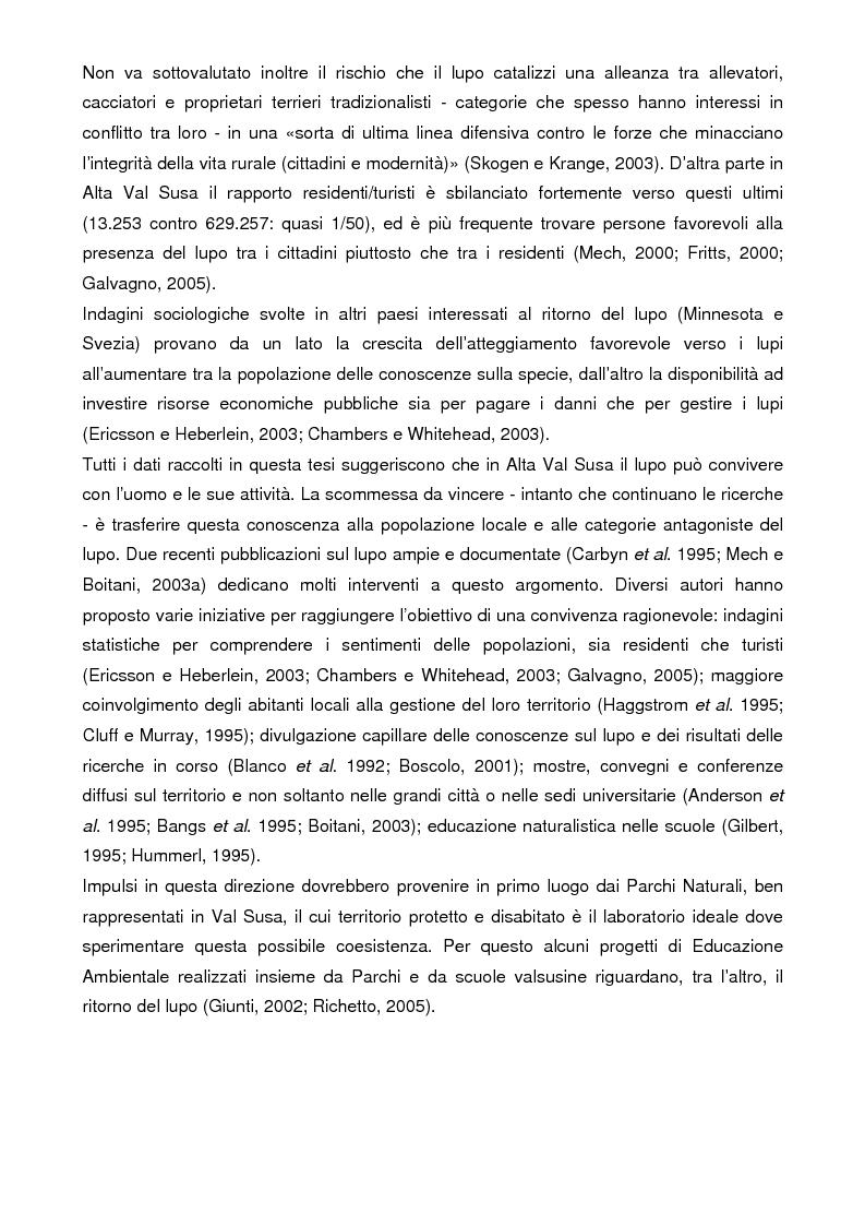 Anteprima della tesi: Analisi storica e situazione attuale della presenza del lupo (canis lupus) in Val Susa (provincia di Torino), Pagina 15