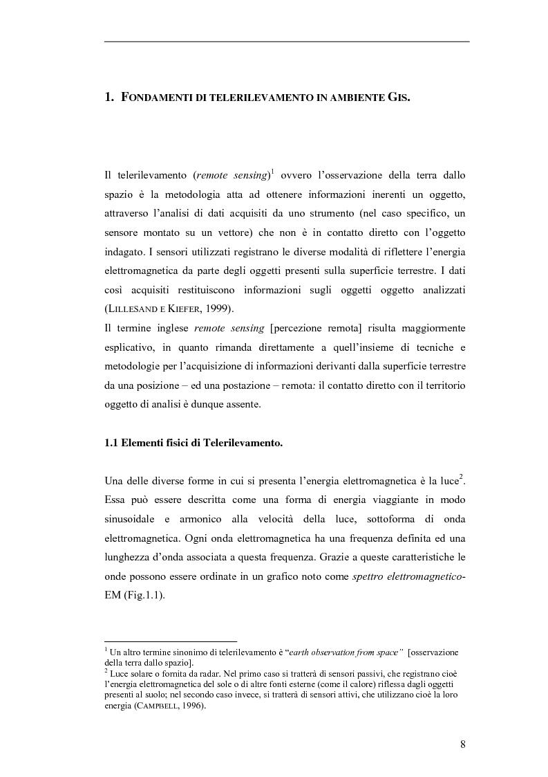 Anteprima della tesi: Remote sensing e tecniche di classificazione per l'analisi del land cover: l'area transfrontaliera di Gorizia-Nova gorica, Pagina 5