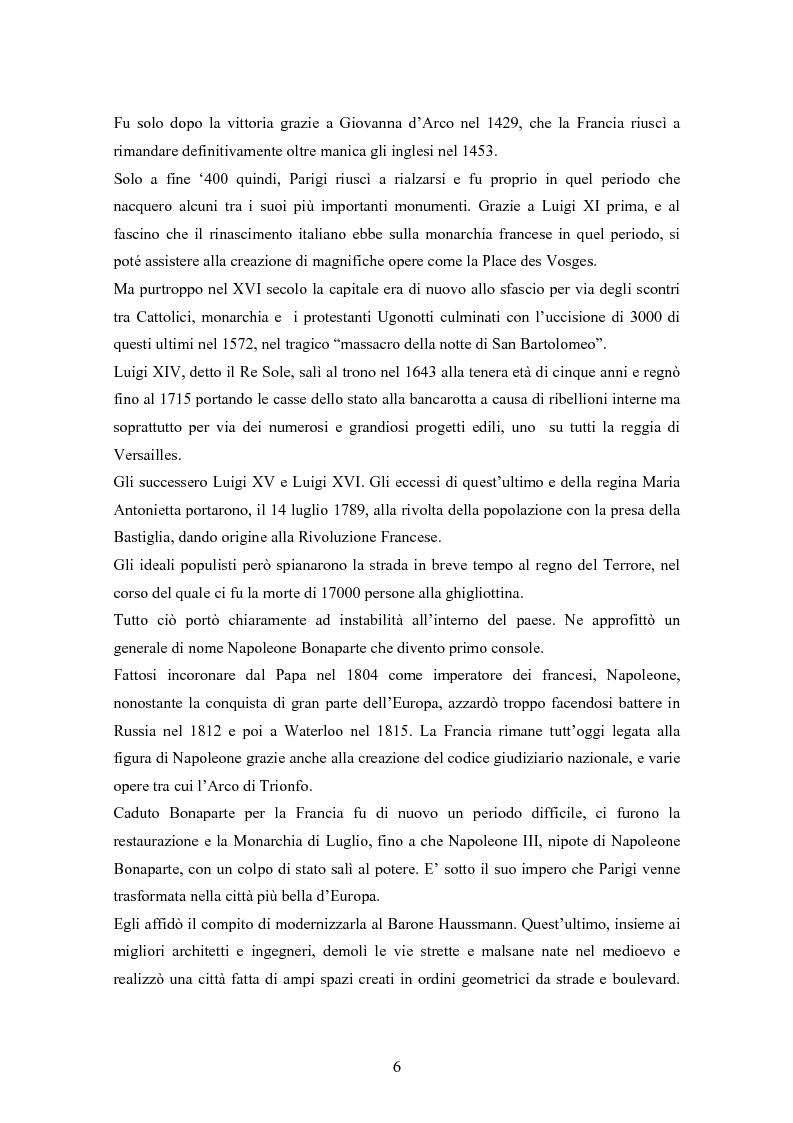 Anteprima della tesi: Fra turismo e postmodernismo: Parigi nel cinema dagli anni '80 a oggi, Pagina 4