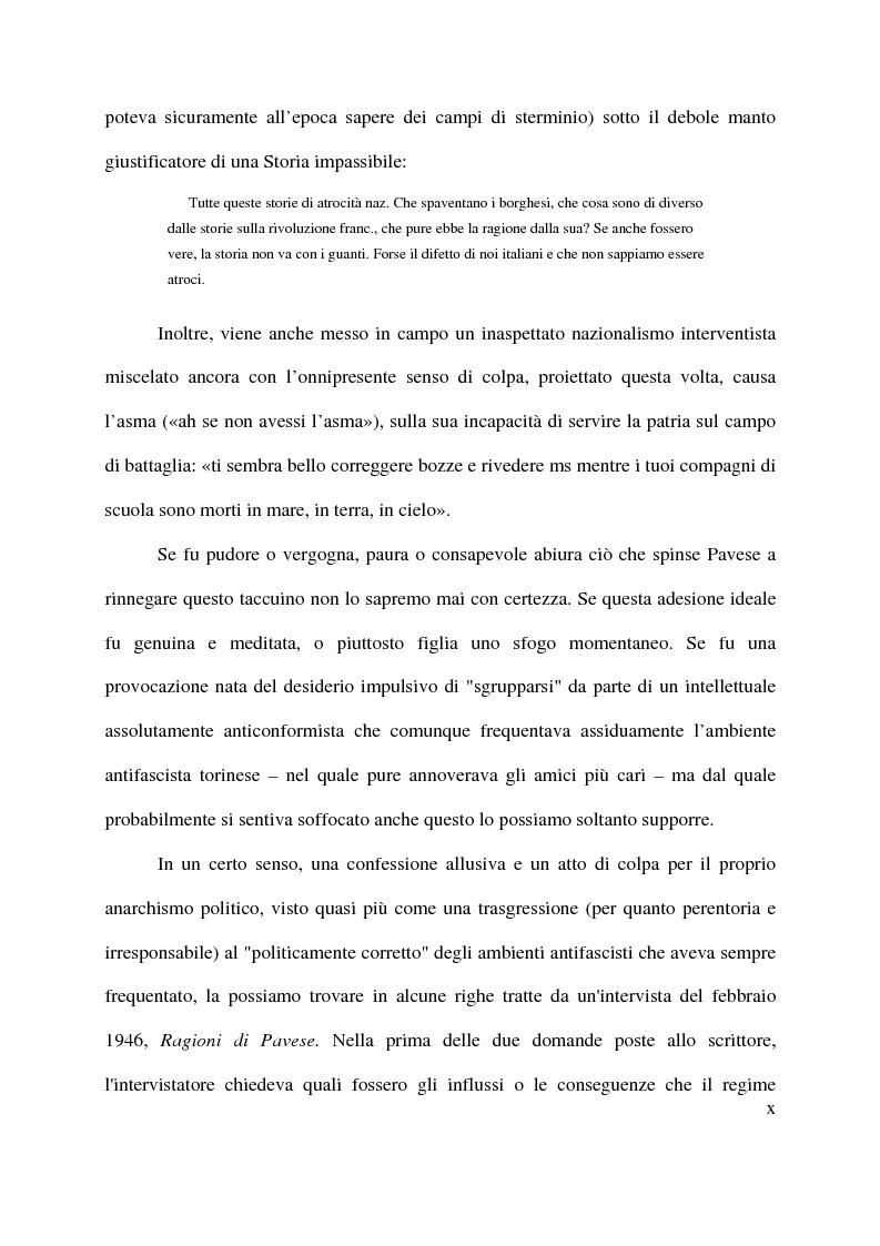 Anteprima della tesi: La macchina mitologica di Cesare Pavese, Pagina 10