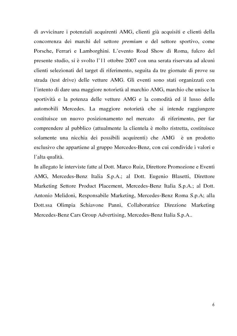 Anteprima della tesi: Il riposizionamento del marchio AMG attraverso il communication system, Pagina 4