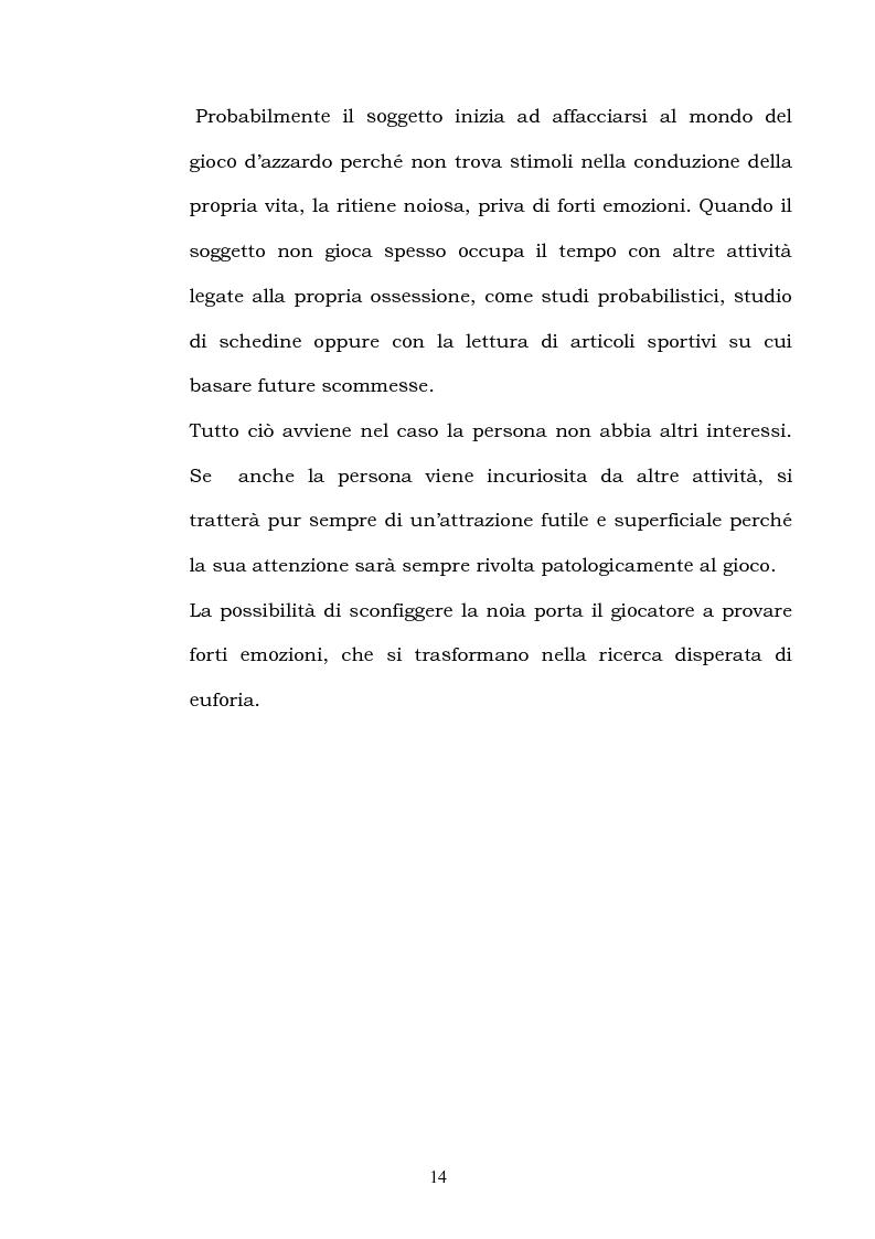 Anteprima della tesi: I fattori di rischio di suicidio nei giocatori d'azzardo patologico, Pagina 10