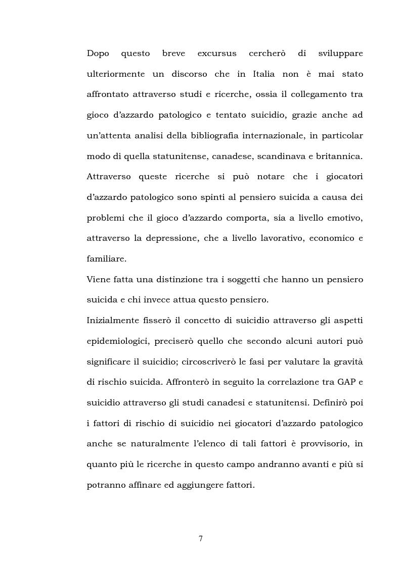 Anteprima della tesi: I fattori di rischio di suicidio nei giocatori d'azzardo patologico, Pagina 3