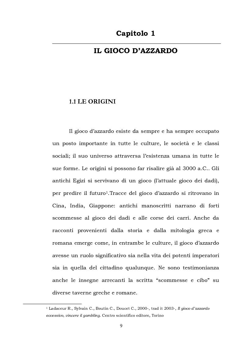 Anteprima della tesi: I fattori di rischio di suicidio nei giocatori d'azzardo patologico, Pagina 5