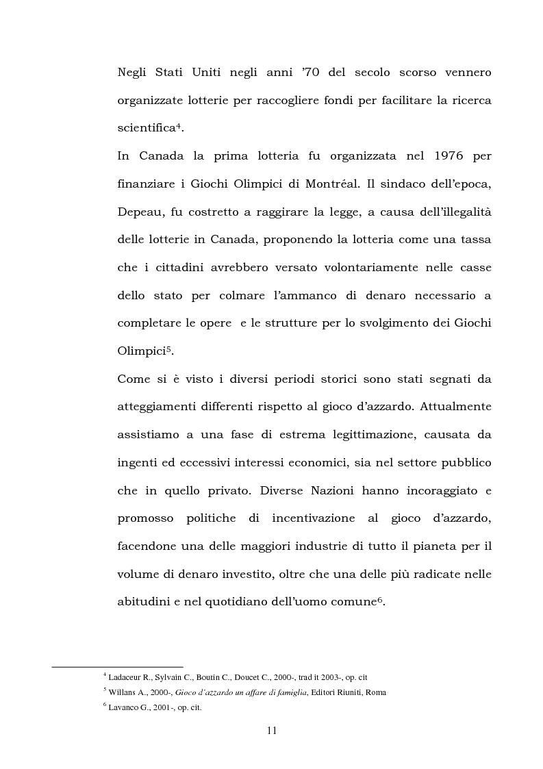 Anteprima della tesi: I fattori di rischio di suicidio nei giocatori d'azzardo patologico, Pagina 7