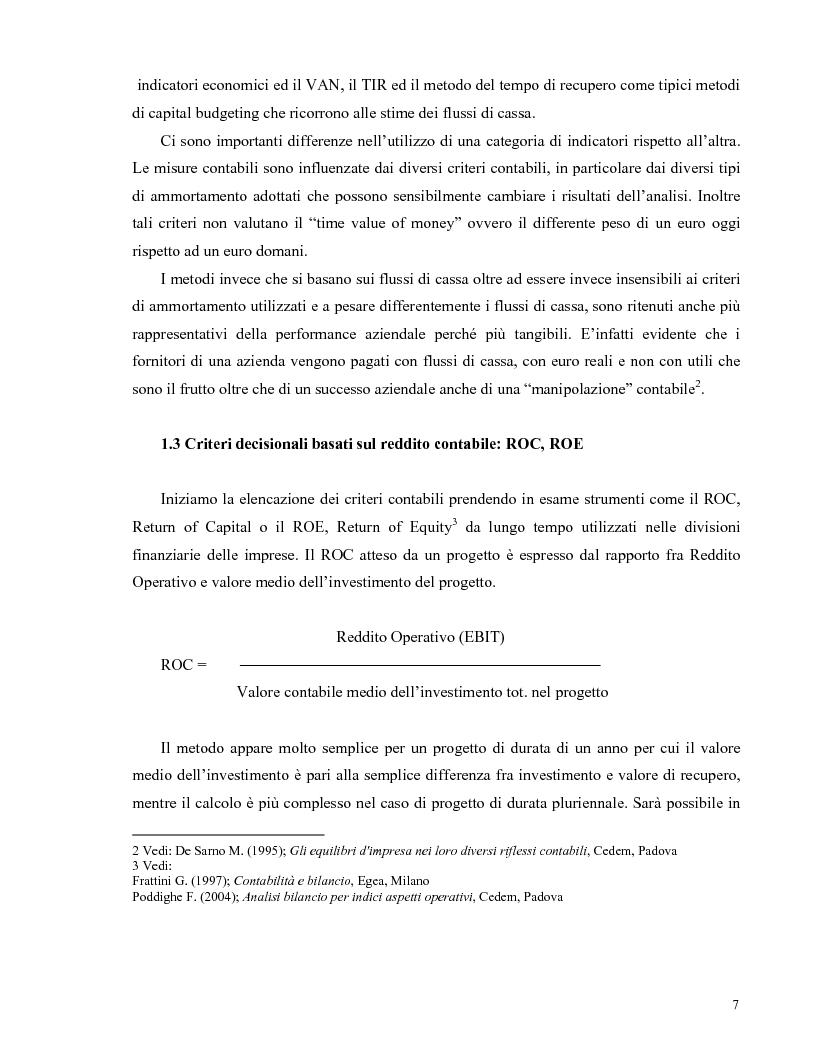 Anteprima della tesi: La valutazione di una impresa monoprogetto. Il caso di una fattoria eolica., Pagina 3