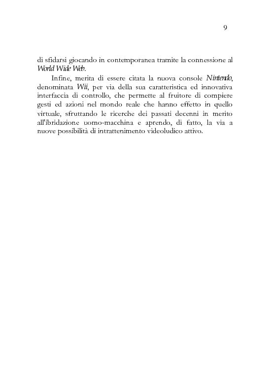 Anteprima della tesi: In-game. Immersità ed interazione della pratica videoludica., Pagina 3