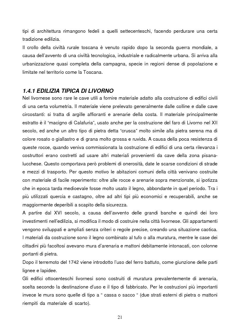 Anteprima della tesi: Energie rinnovabili e risparmio energetico in bioedilizia applicate a un caso studio di edificio bioclimatico (Casa solare Rosignano), Pagina 15