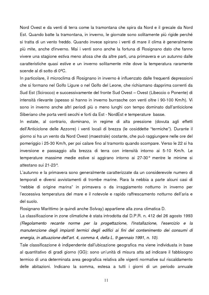Anteprima della tesi: Energie rinnovabili e risparmio energetico in bioedilizia applicate a un caso studio di edificio bioclimatico (Casa solare Rosignano), Pagina 5