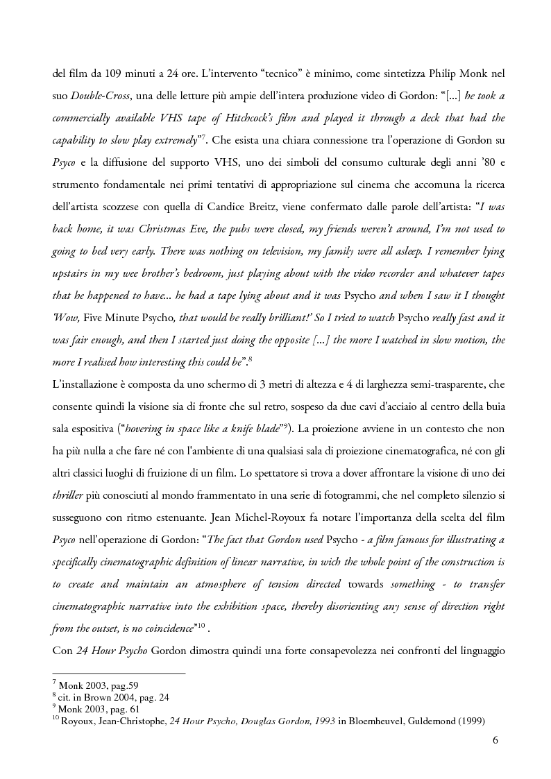 Anteprima della tesi: Schermi incrociati. Hollywood nelle opere di Douglas Gordon, Pierre Huyghe e Candice Breitz, Pagina 4