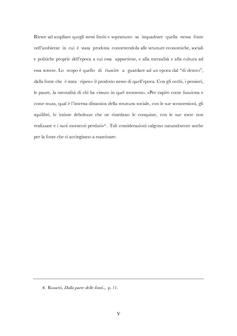 Anteprima della tesi: Devozione e pratiche magiche nel tardo medioevo. Un esempio nel veronese (Biblioteca Civica di Verona: ms 443-444), Pagina 5