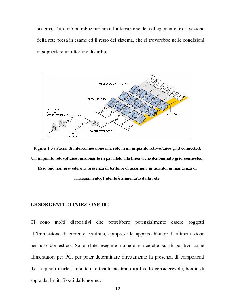 Anteprima della tesi: Reti a generazione distribuita ''iniezione DC'', Pagina 10