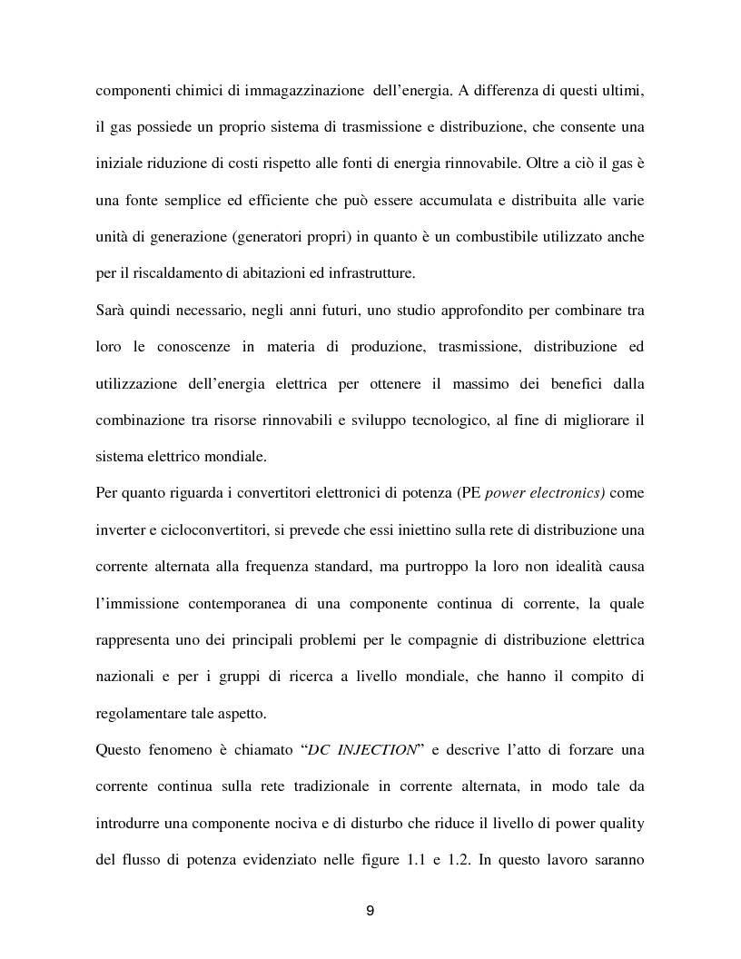 Anteprima della tesi: Reti a generazione distribuita ''iniezione DC'', Pagina 7