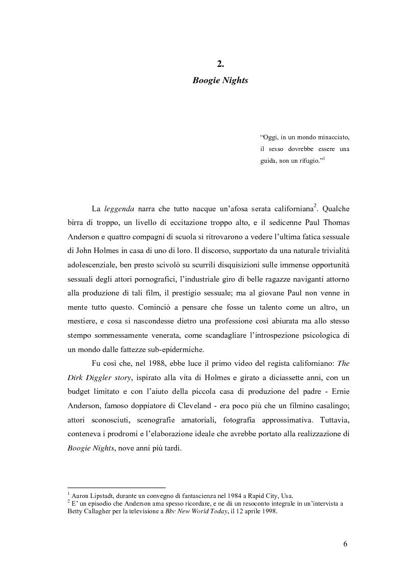 Anteprima della tesi: Il cinema di Paul Thomas Anderson, Pagina 3