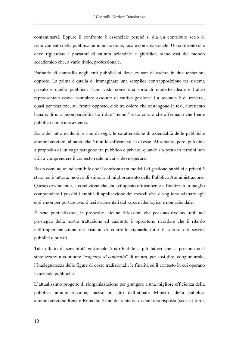 Anteprima della tesi: Il controllo nella pubblica amministrazione: ieri, oggi e domani, Pagina 4