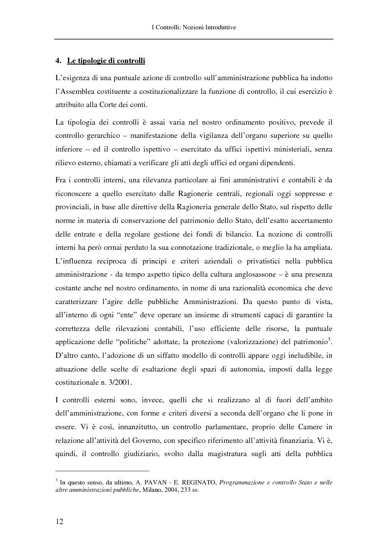 Anteprima della tesi: Il controllo nella pubblica amministrazione: ieri, oggi e domani, Pagina 6