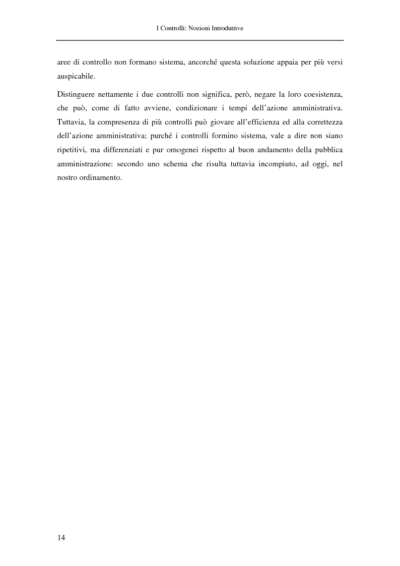 Anteprima della tesi: Il controllo nella pubblica amministrazione: ieri, oggi e domani, Pagina 8