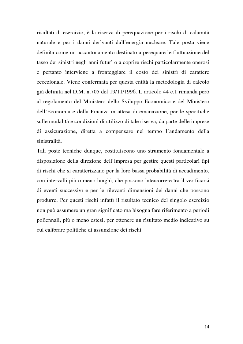 Anteprima della tesi: La riassicurazione per il rischio catastrofale: un approccio stocastico alle coperture terremoto del mercato italiano, Pagina 11